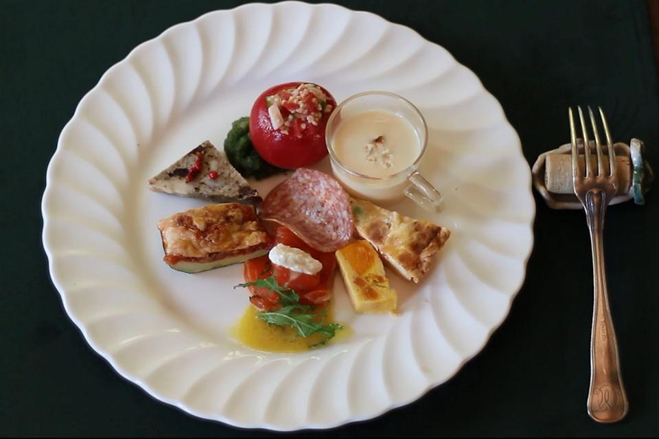 레스토랑 콘포스테라 【파스타、과자、서양요리】