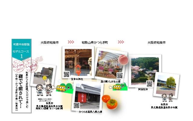 コースNo.1【和泉中央駅発】~詣でて癒されて…~