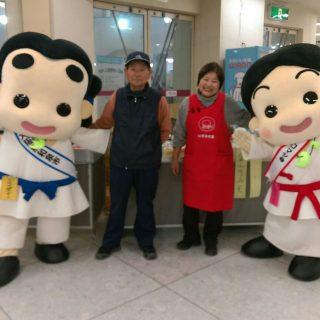 和泉市ブースの横ではいずみの里さんが和泉市の農産物を販売していたんだ!