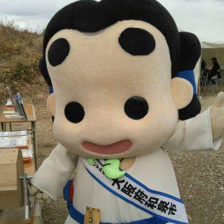 和泉市のブースではガラポン抽選会も行いました~!和泉市の特産品に加え、協賛企業よりご提供いただいた賞品など盛りだくさんだったんだ!