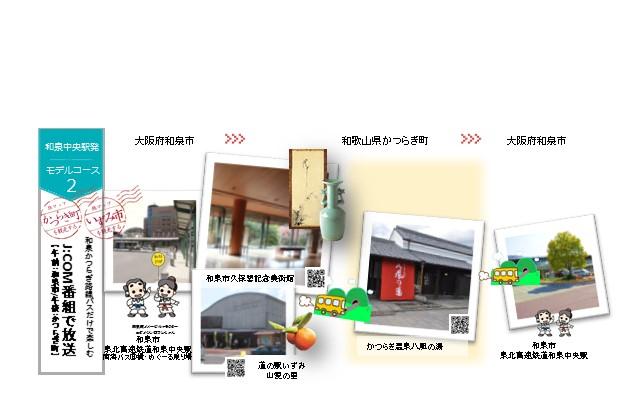 コースNo.2【和泉中央発】~J:COM番組で放送されたコース~