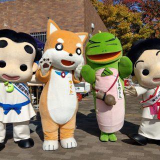 大阪府立弥生文化博物館のカイトとリュウさんも来ていました~♪
