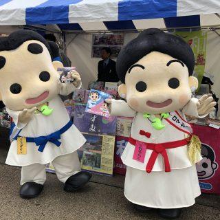 和泉市のブースでは、特産品の販売やボクたちのグッズを販売したよ~♪