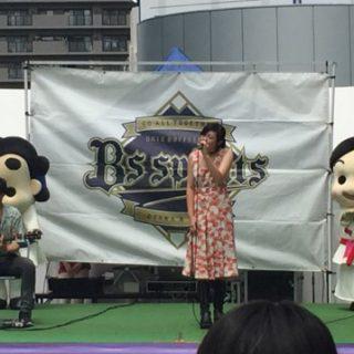 いずみの国和泉市PR大使の小出夏花さんのステージにも参加させていただきました~☆