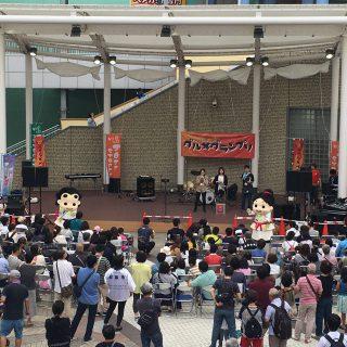 当日会場では、「和泉の国ジャズストリート」による演奏等も行われ、食と音楽を味わえるイベントに会場はとっても盛り上がっていたよ!