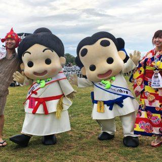お笑いコンビ、ムコアンジーさんも、いずみの国和泉市観光大使就任に香港から参加してくれました~☆お久しぶりだね!!