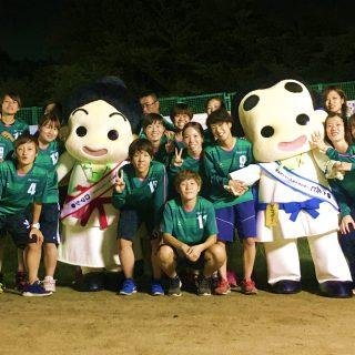 和泉市で初となる社会人女子サッカーチーム「和泉テクノFC」のみなさんとも写真を撮りました~!!