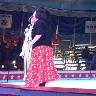 テープカット終了後には、お笑いコンビ「天然もろこし」さんのいずみの国和泉市PR大使の就任式が行われました!!