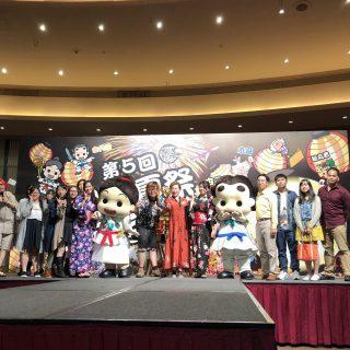 のど自慢大会も開催されました!!みんな日本語でとっても上手に歌ってくれたよ!!