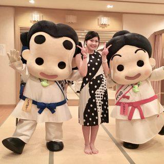 いずみの国和泉市PR大使の小出夏花さんも式典に参加されていたんだよ!