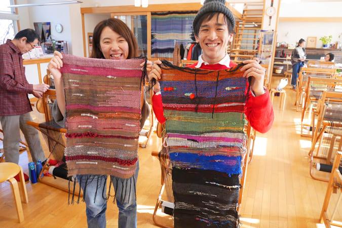 さをり織り体験「さをりの森」3