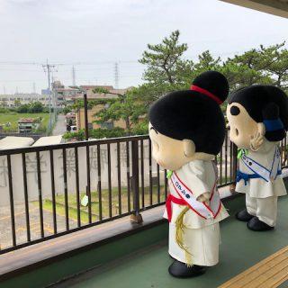 台湾からの生徒さんのお出迎え待機中~!ドキドキするな~!