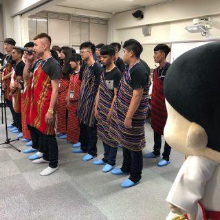 台湾埔里高級工業職業学校の生徒さんによるご挨拶もありました!