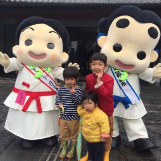 朝から雨が降っていたけど、式典の前には雨も上がってたくさんお友達が遊びに来てくれたよ!