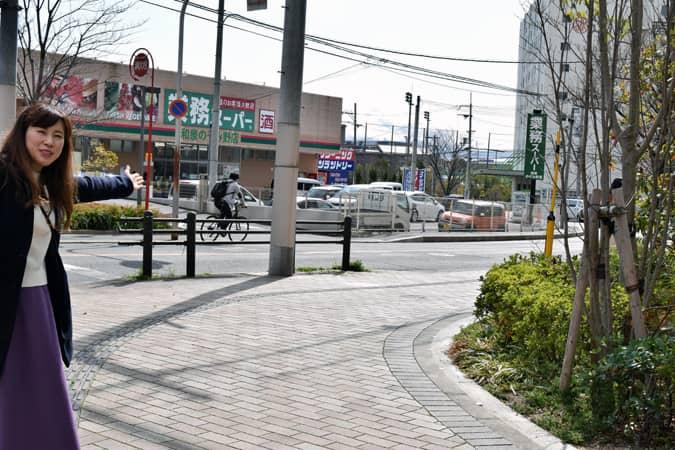 桃山学院大学~宮ノ上公園エリア イメージ