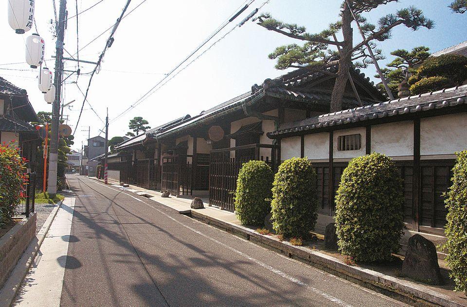 熊野街道(小栗街道)